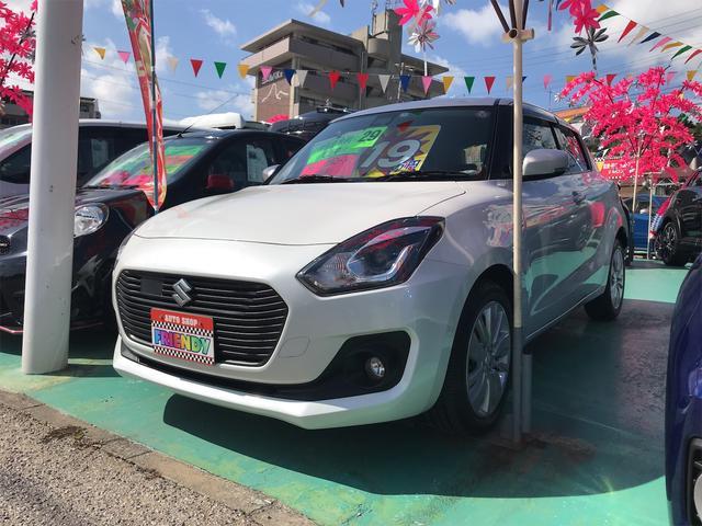 沖縄県中頭郡西原町の中古車ならスイフト ハイブリッドML CD/DVD Bluetooth バックカメラ セーフティパッケージ スマートキー プッシュスタート オートエアコン