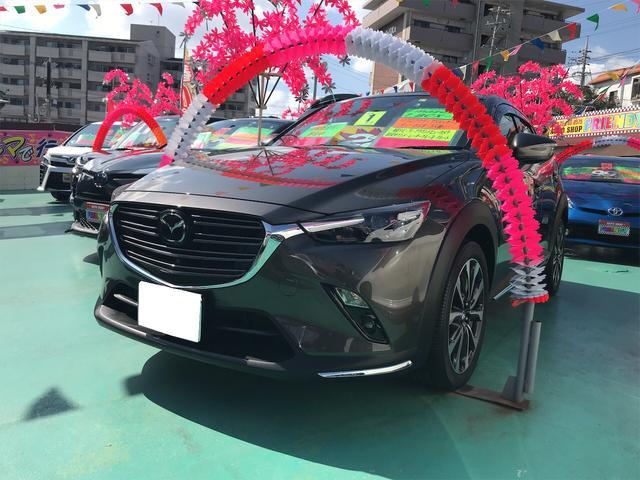 沖縄の中古車 マツダ CX-3 車両価格 219万円 リ済込 2019(平成31)年 5.8万km グレー