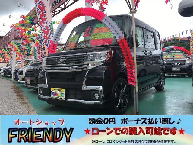 沖縄の中古車 ダイハツ タント 車両価格 109万円 リ済込 2016(平成28)年 7.0万km ブラック