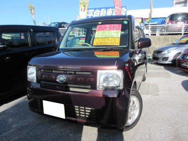 沖縄の中古車 ダイハツ ムーヴコンテ 車両価格 75万円 リ済込 平成23年 5.7万km ブラウンM