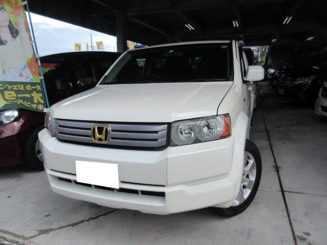 沖縄の中古車 ホンダ クロスロード 車両価格 105万円 リ済込 平成20年 9.6万km パール