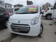 沖縄の中古車 スズキ アルトエコ 車両価格 61万円 リ済込 平成25年 5.4万K ホワイト