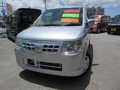 沖縄の中古車 日産 オッティ 車両価格 54万円 リ済込 平成21年 2.6万K シルバー