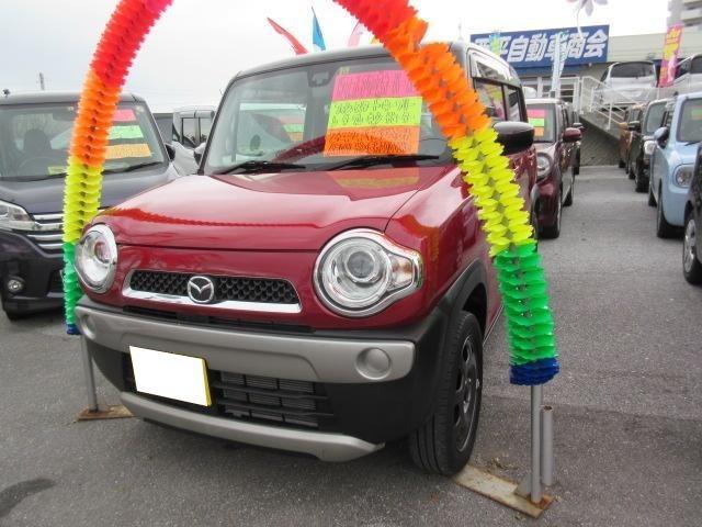 沖縄の中古車 マツダ フレアクロスオーバー 車両価格 105万円 リ済込 平成27年 3.0万km ツートン