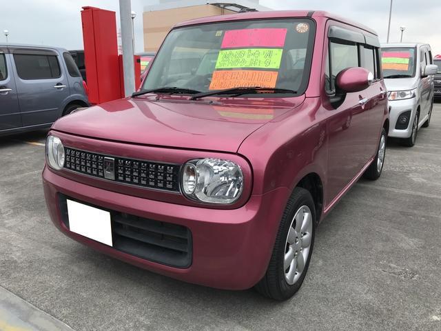 沖縄県の中古車ならアルトラパン 10thアニバーサリーリミテッド TV ナビ 軽自動車