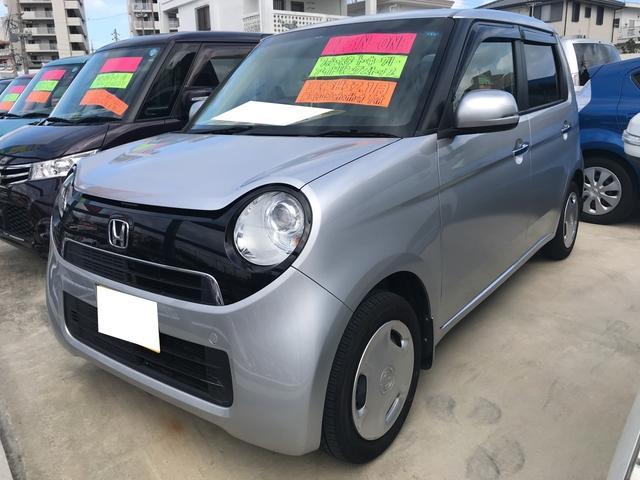 沖縄の中古車 ホンダ N-ONE 車両価格 76万円 リ済込 2013(平成25)年 6.4万km アラバスターシルバーメタリック