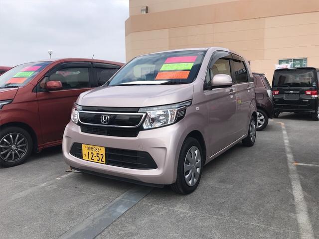 沖縄県の中古車ならN-WGN G Iストップ スマ-トキ- エアバック ベンチS