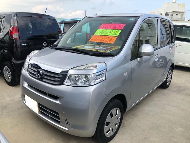 沖縄の中古車 ホンダ ライフ 車両価格 60万円 リ済込 2013(平成25)年 7.2万km シルバー