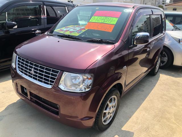 沖縄の中古車 三菱 eKワゴン 車両価格 45万円 リ済込 2011(平成23)年 7.6万km ワインII
