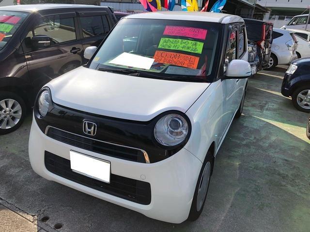 沖縄の中古車 ホンダ N-ONE 車両価格 76万円 リ済込 2012(平成24)年 7.5万km パールホワイト