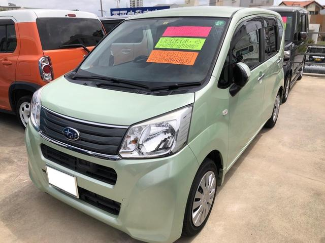 沖縄の中古車 スバル ステラ 車両価格 72万円 リ済込 2015(平成27)年 6.7万km Lグリーン