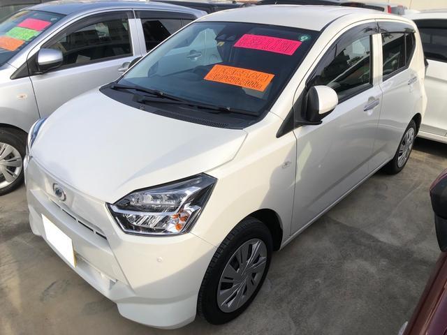 沖縄の中古車 ダイハツ ミライース 車両価格 106万円 リ済込 2020(令和2)年 0.3万km パールホワイト