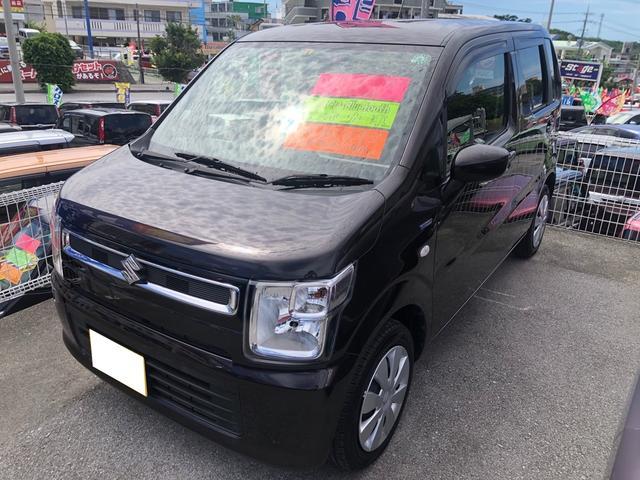 沖縄県の中古車ならワゴンR ハイブリッドFX ワンオーナー 禁煙車