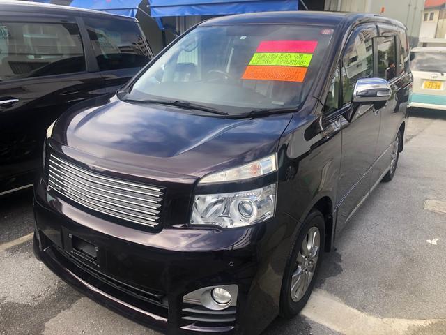 沖縄県の中古車ならヴォクシー ZS 煌II ナビ TV DVD Bluetooth バックカメラ 両側電動スライドドア