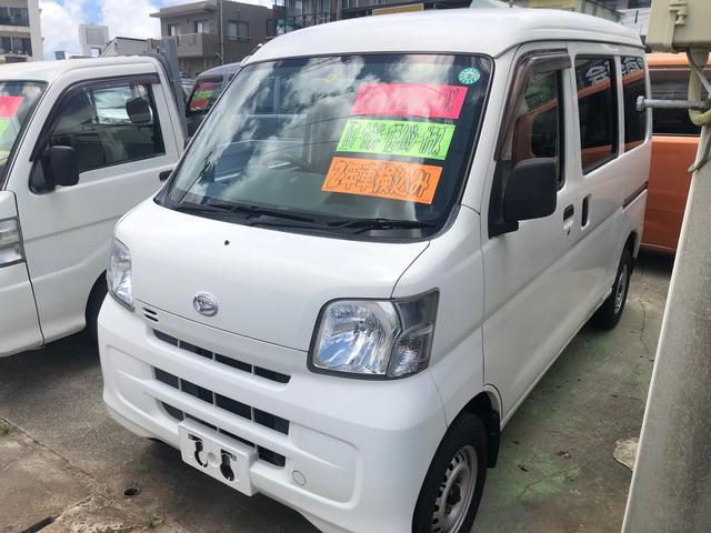 沖縄の中古車 ダイハツ ハイゼットカーゴ 車両価格 52万円 リ済込 2011(平成23)年 8.2万km ホワイト