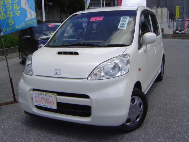 沖縄の中古車 ホンダ ライフ 車両価格 48万円 リ済込 平成20年 7.2万km パールホワイト