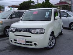沖縄の中古車 日産 キューブ 車両価格 63万円 リ済込 平成23年 9.7万K パールホワイト