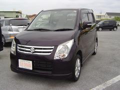 沖縄の中古車 スズキ ワゴンR 車両価格 68万円 リ済込 平成22年 7.4万K ワインM