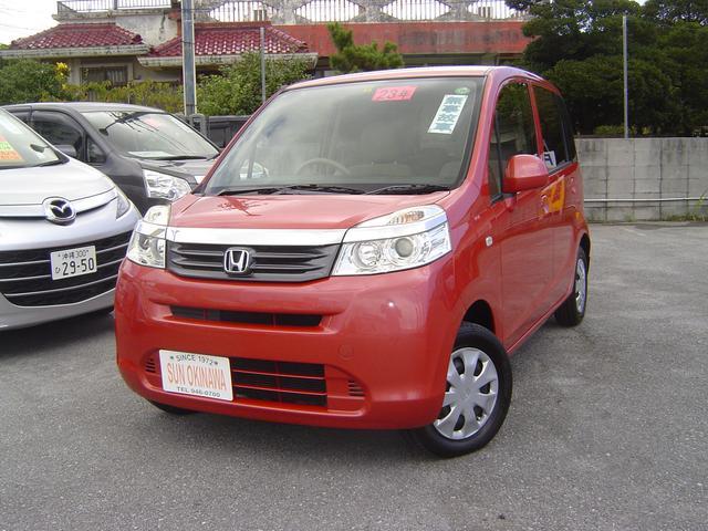 沖縄の中古車 ホンダ ライフ 車両価格 74万円 リ済込 平成23年 7.8万km レッドM