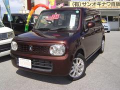 沖縄の中古車 スズキ アルトラパン 車両価格 73万円 リ済込 平成23年 7.9万K ブラウンM