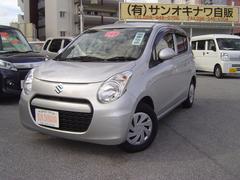 沖縄の中古車 スズキ アルトエコ 車両価格 64万円 リ済込 平成24年 7.3万K シルバーII