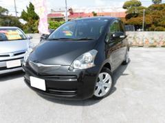沖縄の中古車 トヨタ ラクティス 車両価格 49万円 リ済込 平成21年 7.2万K DブラックM