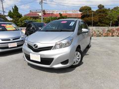 沖縄の中古車 トヨタ ヴィッツ 車両価格 68万円 リ済込 平成23年 3.8万K シルバーM