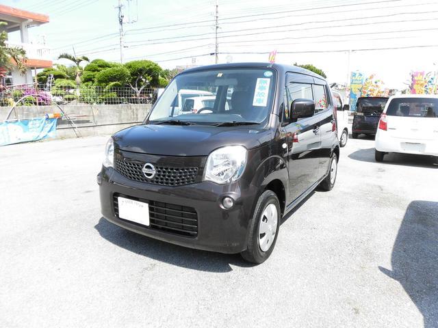 沖縄の中古車 日産 モコ 車両価格 73万円 リ済込 平成25年 7.0万km ブラウンM