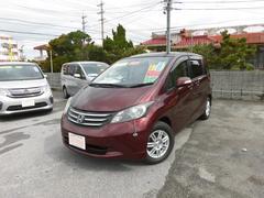 沖縄の中古車 ホンダ フリード 車両価格 69万円 リ済込 平成21年 8.0万K ダークレッドM