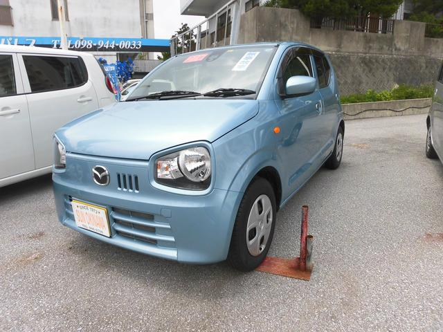 沖縄の中古車 マツダ キャロル 車両価格 73万円 リ済込 2015(平成27)年 2.0万km ライトブルーM
