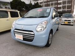 沖縄の中古車 スズキ アルトエコ 車両価格 54万円 リ済込 平成26年 6.2万K ライトブルーM