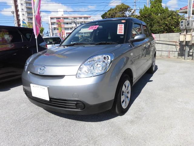 沖縄の中古車 マツダ ベリーサ 車両価格 69万円 リ済込 平成25年 6.7万km シルバーM