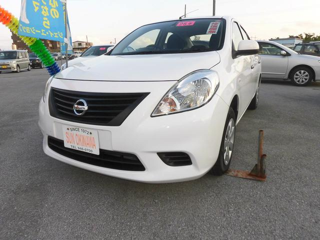 沖縄の中古車 日産 ラティオ 車両価格 58万円 リ済込 2013(平成25)年 7.4万km ホワイトM