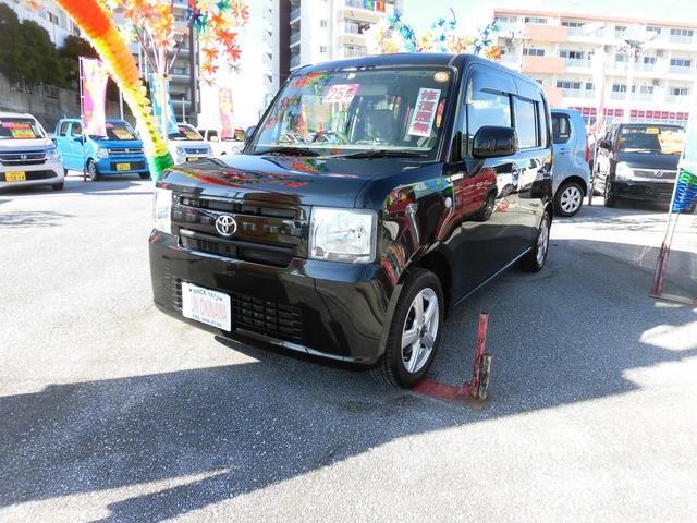 沖縄の中古車 トヨタ ピクシススペース 車両価格 74万円 リ済込 平成25年 6.6万km ブラックM