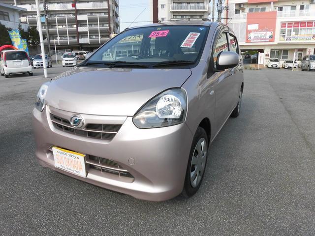沖縄の中古車 ダイハツ ミライース 車両価格 65万円 リ済込 平成25年 3.2万km ピンクM