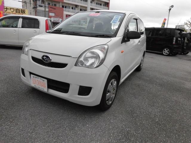 沖縄の中古車 スバル プレオ 車両価格 44万円 リ済込 2011(平成23)年 5.2万km ホワイトM
