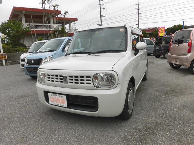 沖縄の中古車 スズキ アルトラパン 車両価格 63万円 リ済込 2011(平成23)年 3.6万km パールホワイト