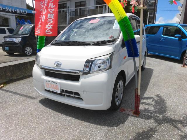 沖縄の中古車 ダイハツ ムーヴ 車両価格 60万円 リ済込 2014(平成26)年 6.6万km ホワイト