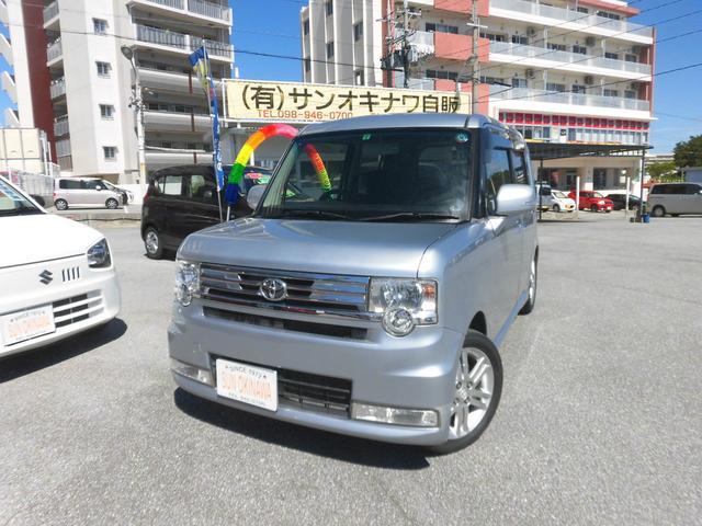 沖縄の中古車 トヨタ ピクシススペース 車両価格 72万円 リ済込 2012(平成24)年 6.3万km シルバーM