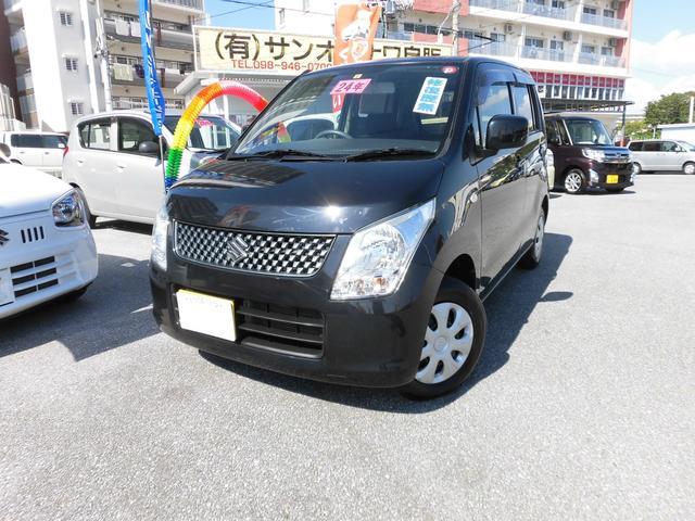 沖縄の中古車 スズキ ワゴンR 車両価格 52万円 リ済込・追 2012(平成24)年 5.7万km DブラックM