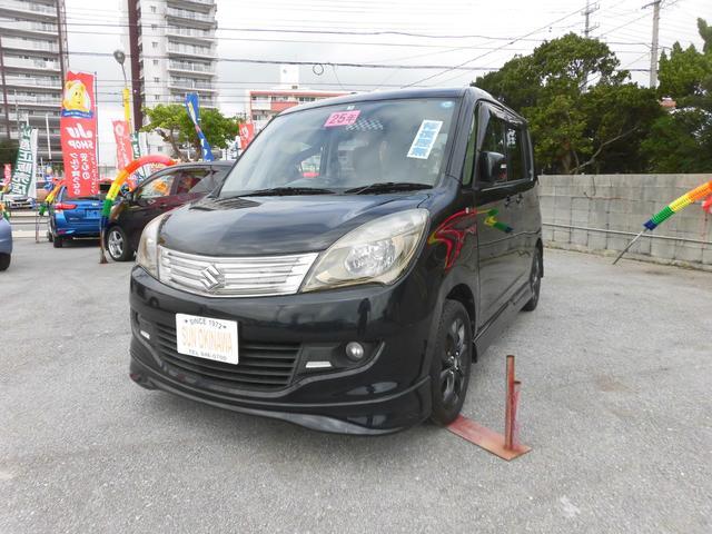 沖縄の中古車 スズキ ソリオ 車両価格 68万円 リ済込 2013(平成25)年 8.1万km ブラックM
