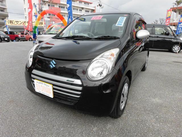 沖縄の中古車 スズキ アルトエコ 車両価格 70万円 リ済込 2013(平成25)年 5.4万km ブラウンM