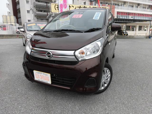 沖縄の中古車 日産 デイズ 車両価格 80万円 リ済込 2016(平成28)年 5.6万km Dブラウン