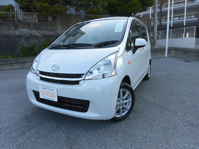 沖縄の中古車 ダイハツ ムーヴ 車両価格 56万円 リ済込 2012(平成24)年 8.3万km パールホワイト