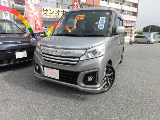 沖縄県中頭郡西原町の中古車ならフレアワゴンカスタムスタイル XS