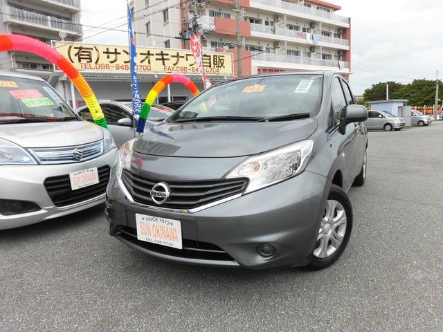 沖縄の中古車 日産 ノート 車両価格 65万円 リ済込 2014(平成26)年 5.8万km グレーM