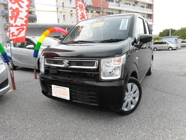 沖縄の中古車 スズキ ワゴンR 車両価格 94万円 リ済込 2017(平成29)年 5.6万km ブラックM