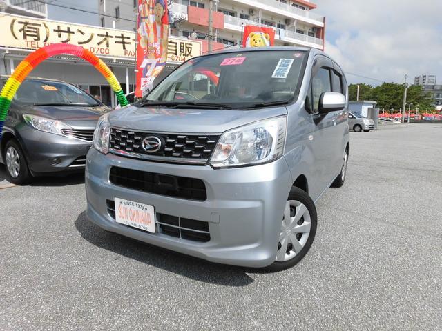 沖縄の中古車 ダイハツ ムーヴ 車両価格 68万円 リ済込 2015(平成27)年 8.0万km シルバーM
