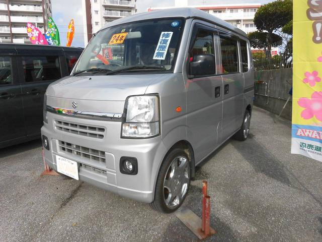 沖縄の中古車 スズキ エブリイ 車両価格 73万円 リ済込 2012(平成24)年 6.3万km シルバーM