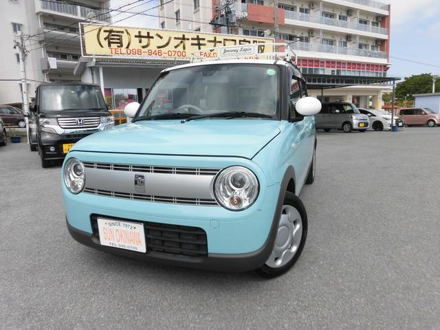 沖縄の中古車 スズキ アルトラパン 車両価格 96万円 リ済込 2016(平成28)年 7.8万km ブルーII